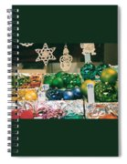 Christkindlmarkt Vienna Ornaments Spiral Notebook