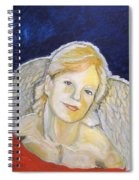 Christmas Angel   Finished Spiral Notebook