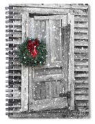 Christmas At The Farm Spiral Notebook