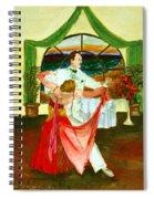 Christmas Ball Spiral Notebook