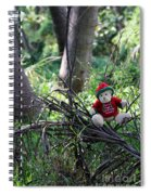 Christmas Bear Spiral Notebook