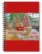 Christmas Bears - Happy Holidays Spiral Notebook