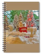 Christmas Bears Spiral Notebook