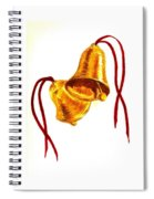 Christmas Bells Spiral Notebook