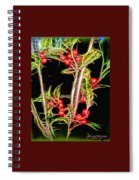 Christmas Berries Spiral Notebook