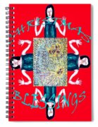 Christmas Blessings 3 Spiral Notebook