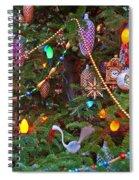 Christmas Bling #2 Spiral Notebook