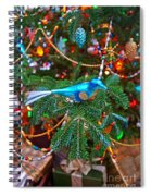 Christmas Bling #3 Spiral Notebook