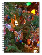 Christmas Bling #4 Spiral Notebook