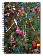 Christmas Bling #5 Spiral Notebook