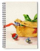 Christmas Box Spiral Notebook
