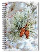 Christmas Card 2017 - 2 Spiral Notebook