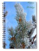 Christmas Card 2017 - 3 Spiral Notebook