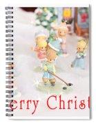 Christmas Card 5 Spiral Notebook