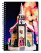 Christmas Chapel 2 Spiral Notebook