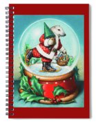 Christmas Cheer Spiral Notebook