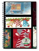Christmas Collage  Spiral Notebook