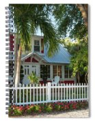 Christmas Cottage - Naples Spiral Notebook