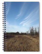 Christmas Day In The Country Spiral Notebook