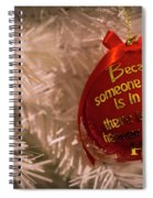Christmas Decor Spiral Notebook