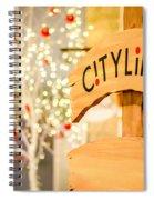 Christmas Decorations 4 Spiral Notebook