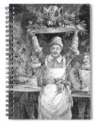 Christmas Dinner Spiral Notebook
