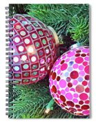 Christmas Dots No. 1-1 Spiral Notebook
