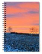 Christmas Eve Panrama Spiral Notebook