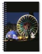 Christmas Fair Scotland Spiral Notebook