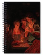Christmas Fortune-telling. Spiral Notebook