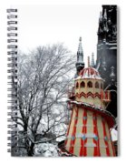 Christmas Helter Skelter Scotland Spiral Notebook