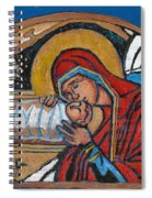Christmas Icon 1 Spiral Notebook