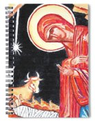 Christmas Icon 2 Spiral Notebook