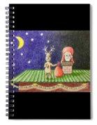 Christmas Illustration Spiral Notebook