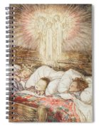 Christmas Illustrations From The Night Before Christmas Spiral Notebook