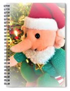 Christmas Imp Toy Spiral Notebook