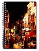 Christmas In Amsterdam Spiral Notebook