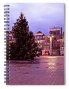Christmas In Amsterdam The Netherlands Spiral Notebook