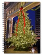Christmas In Chicago Spiral Notebook