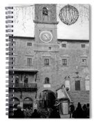 Christmas In Cortona Spiral Notebook
