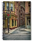 Christmas In Jim Thorpe Spiral Notebook