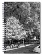 Christmas In July Spiral Notebook