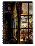 Christmas In Northport Spiral Notebook