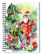 Christmas In York Spiral Notebook