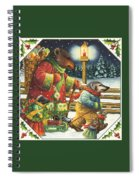 Christmas Journey Spiral Notebook