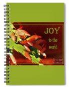 Christmas Joy Spiral Notebook