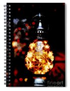 Christmas Lantern Spiral Notebook