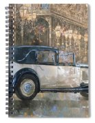 Christmas Lights And 8 Litre Bentley Spiral Notebook