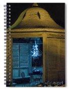 Christmas Lights In Gazebo Spiral Notebook