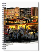 Christmas Market Recklinghausen Spiral Notebook